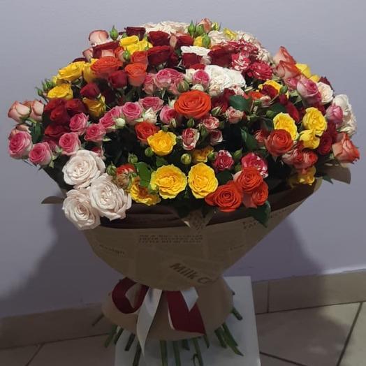 45 кустовых роз