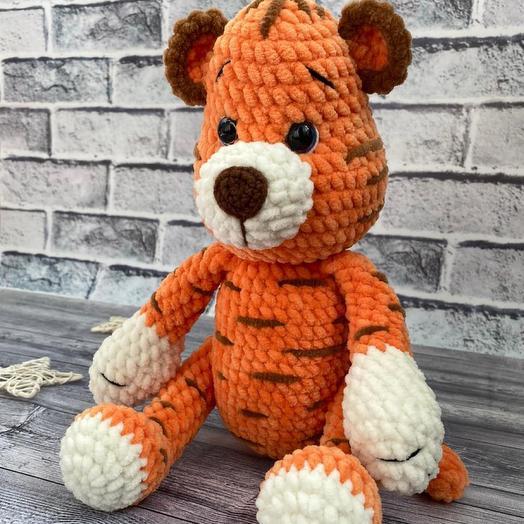 Игрушка ручной работы «Тигр»