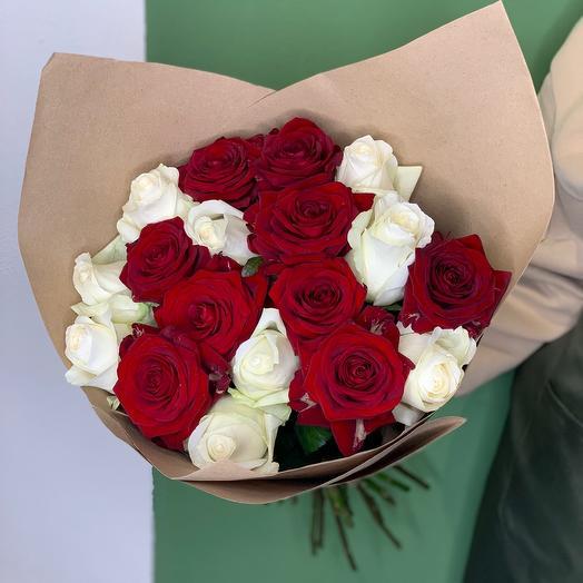 """Роскошный букет из роз """"Идеальная пара"""" 🥰"""