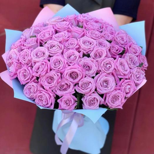 45 фиолетовых роз