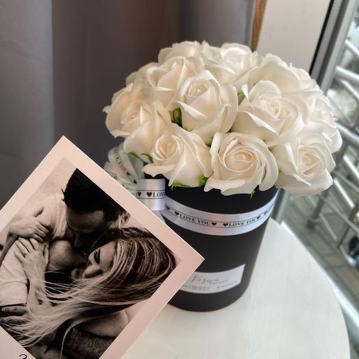 Неувядающие Розы в коробочке