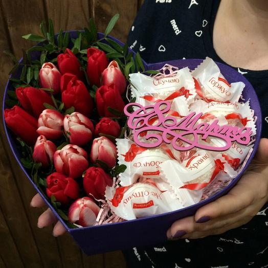 Tulip in a box 006 17pcs