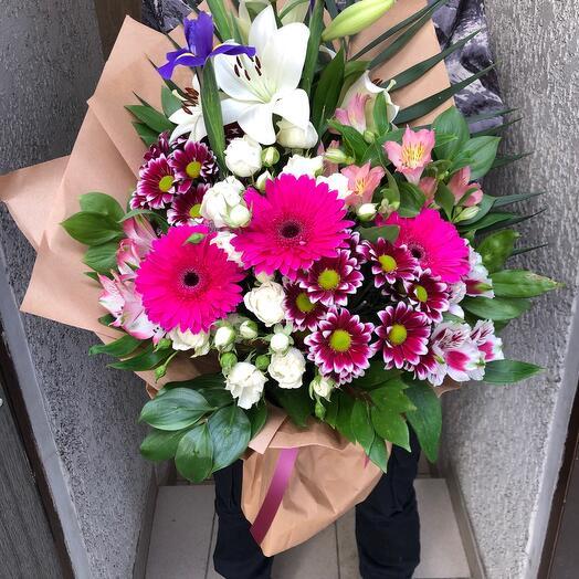 Author's bouquet