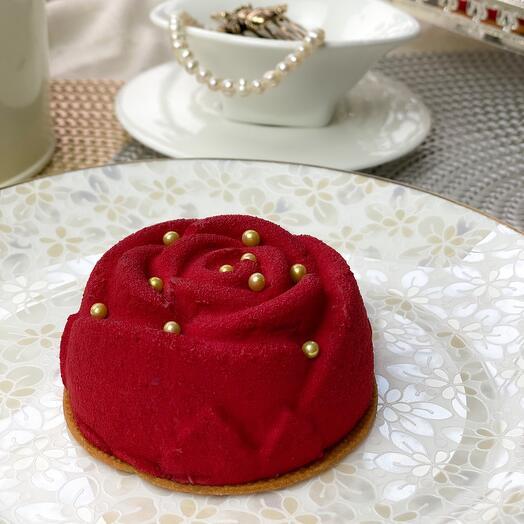 Десерт «Роза»