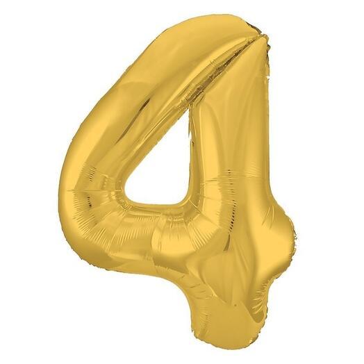 "Шар цифра ""4"""
