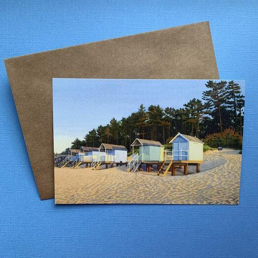 Открытка «Пляж»