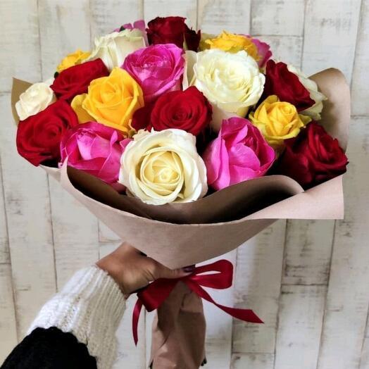 Розы микс 21