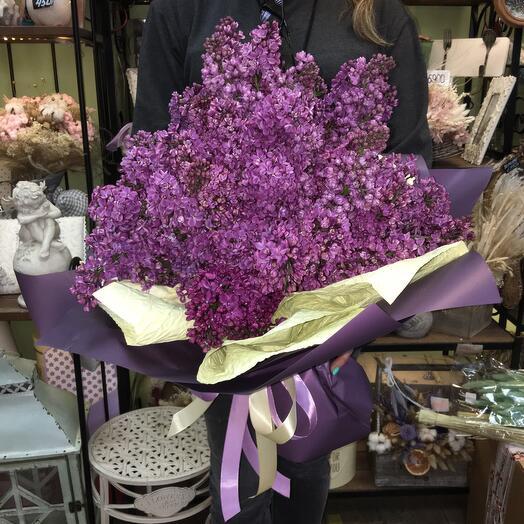 Букет цветов « Сирингия»