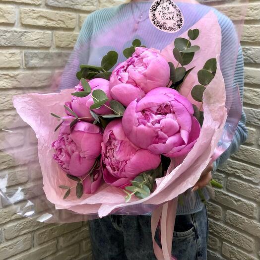 5 peony pink