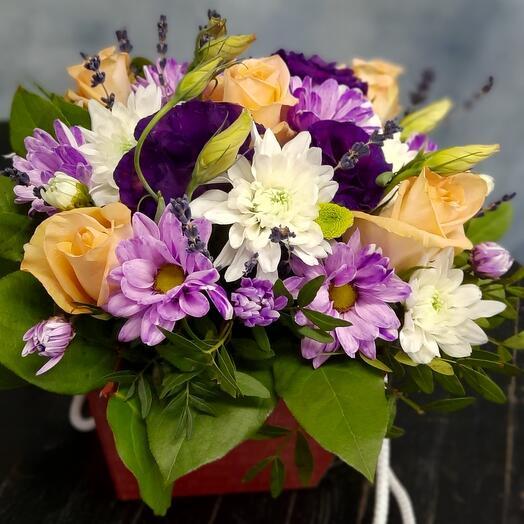 Цветы в коробке наша КОЛЛЕКЦИЯ