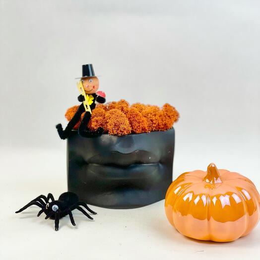 Губы и мох с Трубочистом на Хеллоуин
