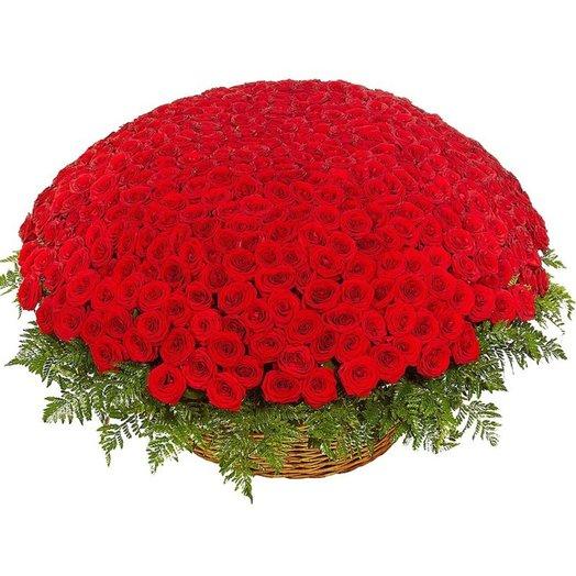 501 роза: букеты цветов на заказ Flowwow