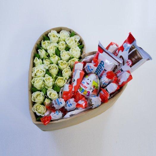 Большая белая сладость: букеты цветов на заказ Flowwow