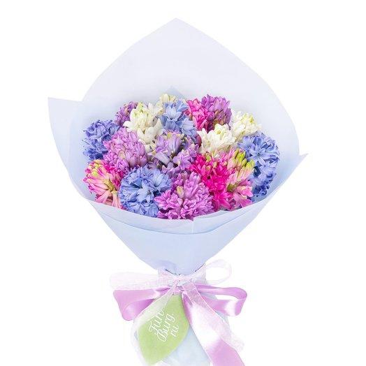 Букет из гиацинтов «Монпансье»: букеты цветов на заказ Flowwow