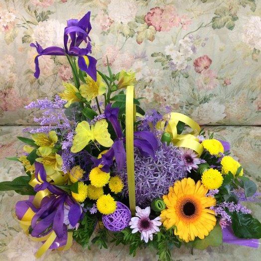 Лазурные лучи: букеты цветов на заказ Flowwow