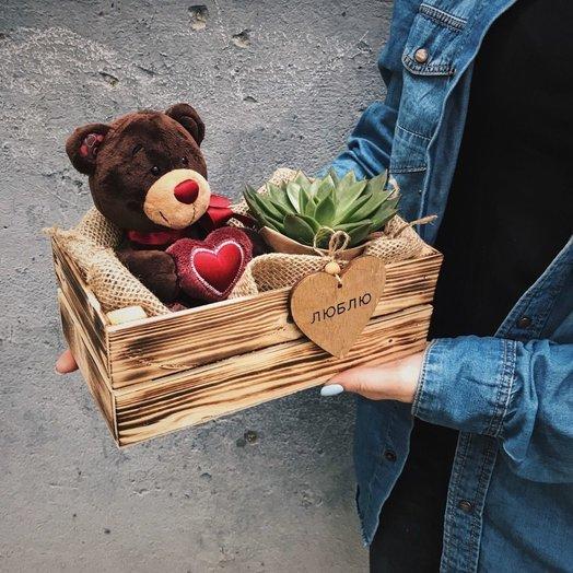 Подарочный набор Для любимой: букеты цветов на заказ Flowwow