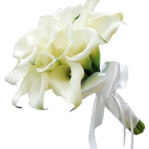 Букет невесты «Белое сияние»: букеты цветов на заказ Flowwow