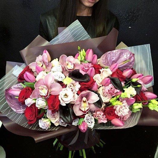 Гигантская любовь: букеты цветов на заказ Flowwow