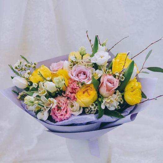 Весна в руках: букеты цветов на заказ Flowwow