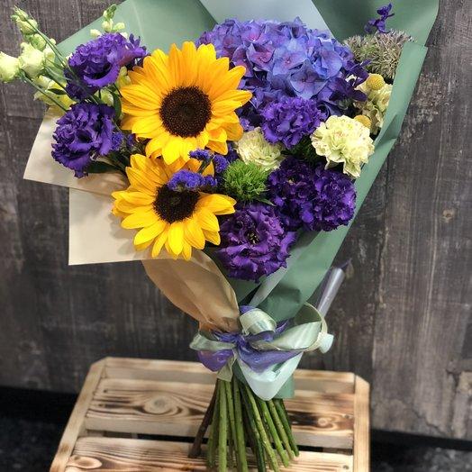 """Букет """"Солнце Тосканы"""": букеты цветов на заказ Flowwow"""