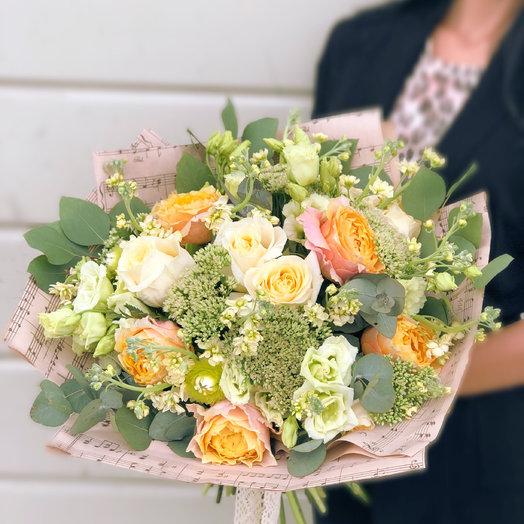 Персик : букеты цветов на заказ Flowwow