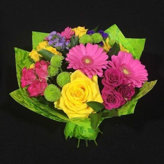 Цветочный фейерверк: букеты цветов на заказ Flowwow