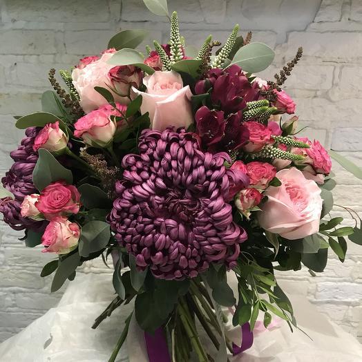 Букет1: букеты цветов на заказ Flowwow