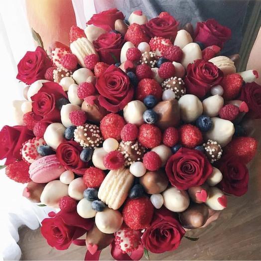 Сладкий букетик «Ренесса»: букеты цветов на заказ Flowwow