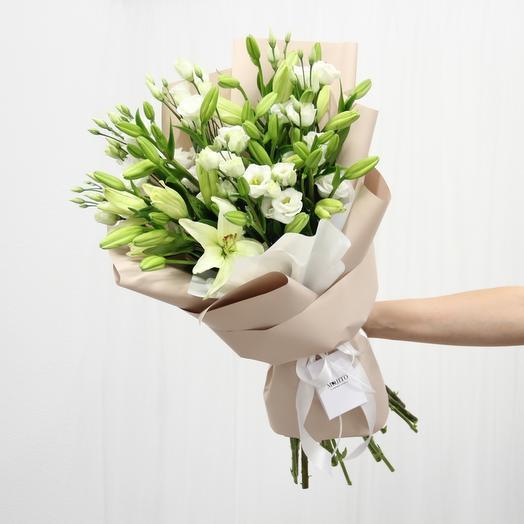 Lily was here: букеты цветов на заказ Flowwow