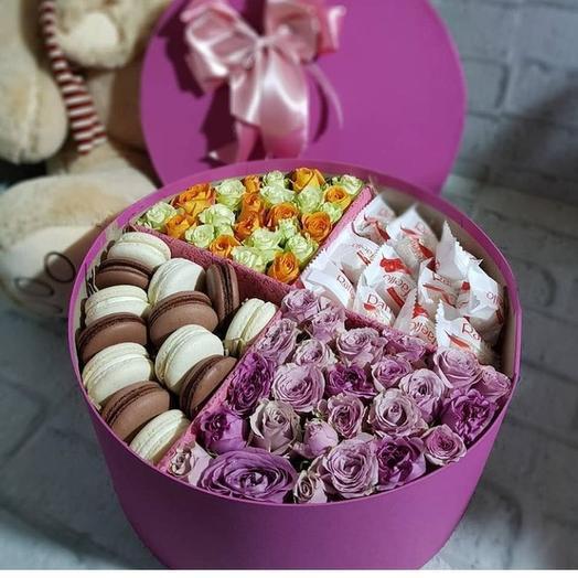 Любимая коробочка: букеты цветов на заказ Flowwow