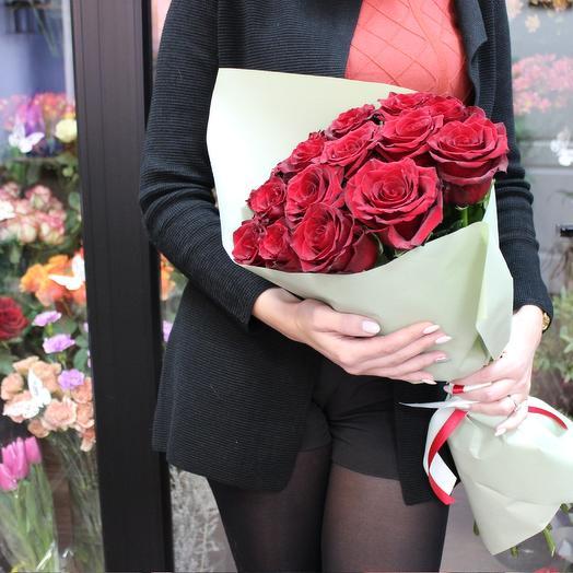 """Классический букет роз """"Буйство красок"""""""