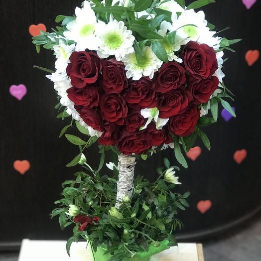 Дерево Любви: букеты цветов на заказ Flowwow