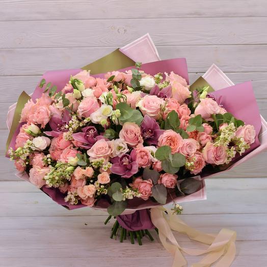 Bouquet Of Mon Plaisir: flowers to order Flowwow