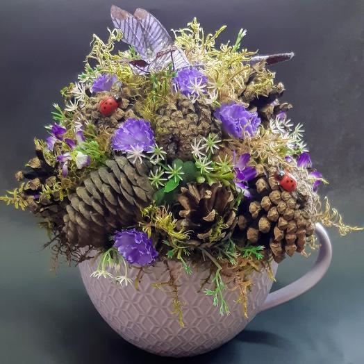 Композиция Сказки леса: букеты цветов на заказ Flowwow