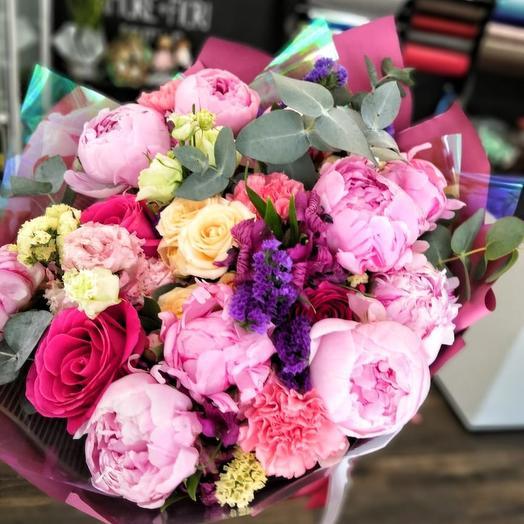 Зефирное облако: букеты цветов на заказ Flowwow