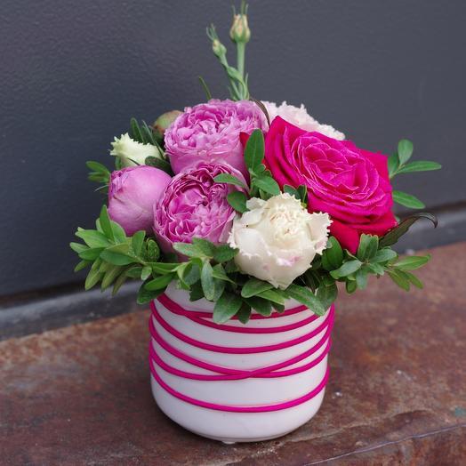 Мини pink: букеты цветов на заказ Flowwow