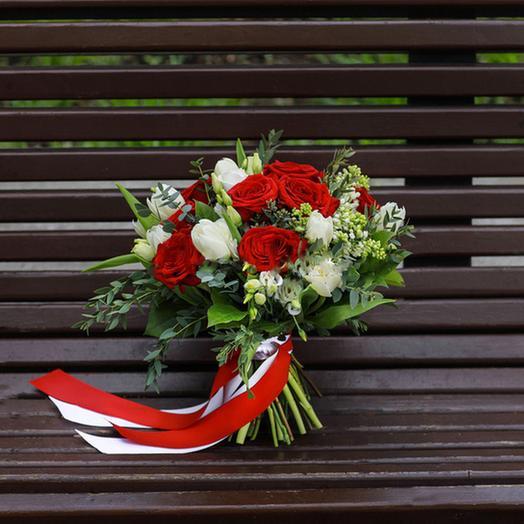 "Букет ""Клюква в Сахаре"": букеты цветов на заказ Flowwow"