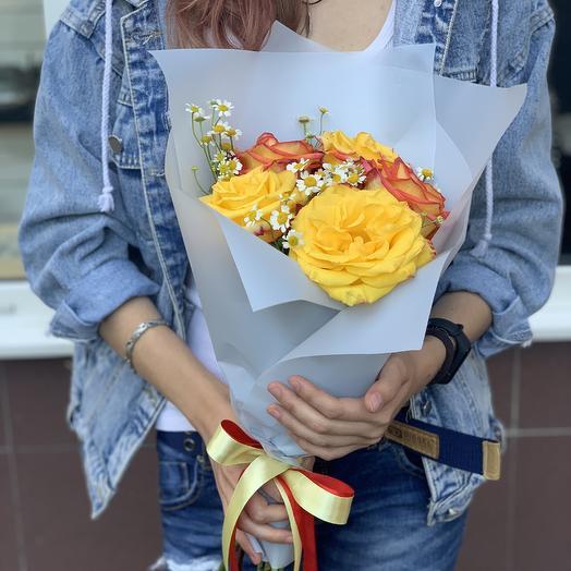 Букет из эквадорских роз: букеты цветов на заказ Flowwow