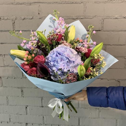 Букет настроения: букеты цветов на заказ Flowwow