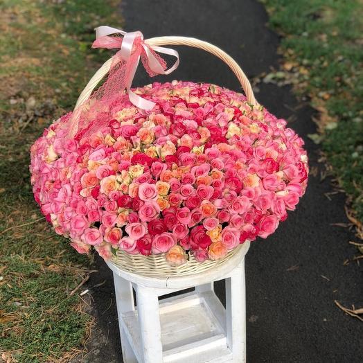 505 роз: букеты цветов на заказ Flowwow
