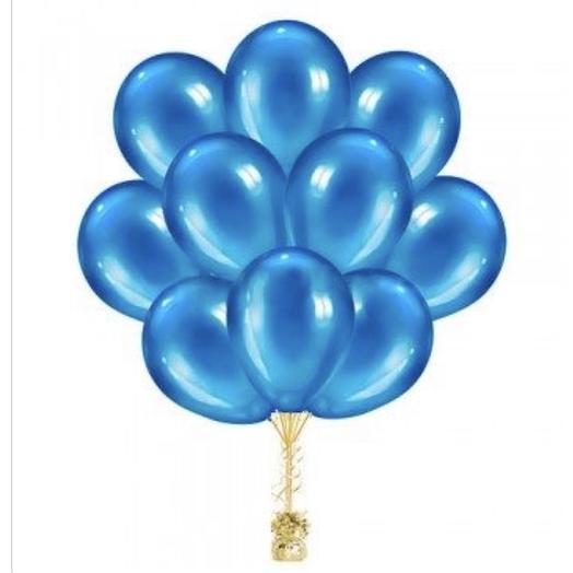 Облако из голубых шаров: букеты цветов на заказ Flowwow