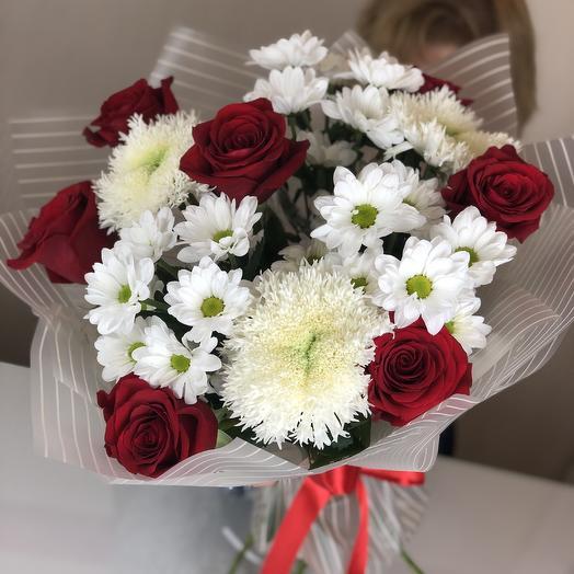 Букет стандарт: букеты цветов на заказ Flowwow