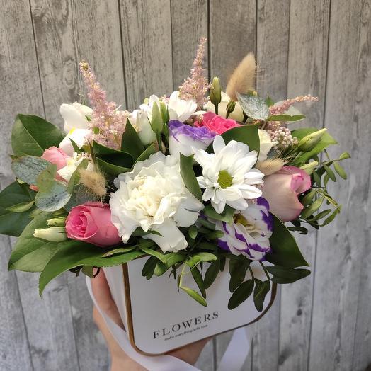 Цветочная сумочка: букеты цветов на заказ Flowwow