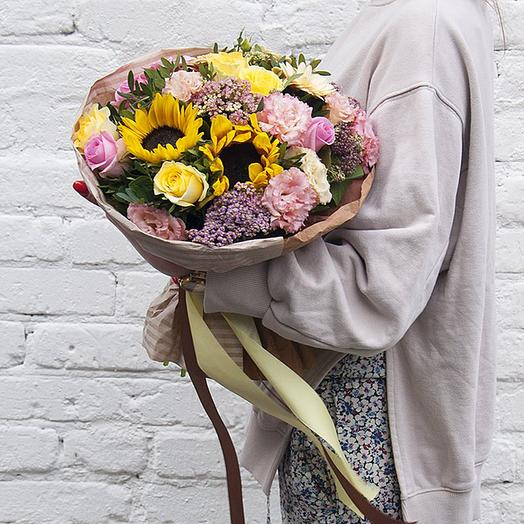 "Букет ""Луговой букет"": букеты цветов на заказ Flowwow"