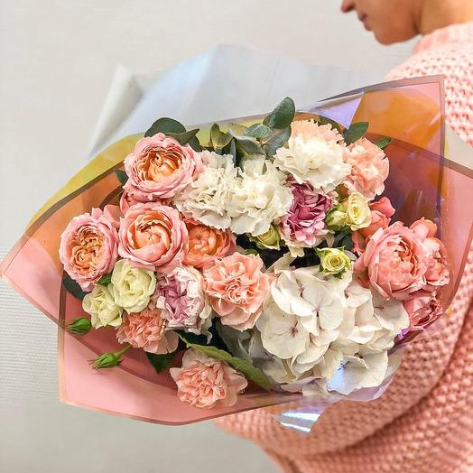 Букет- осенний поцелуй: букеты цветов на заказ Flowwow