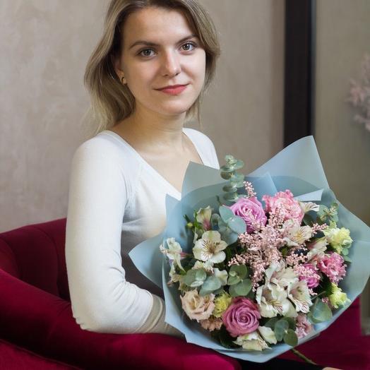 Сиреневый: букеты цветов на заказ Flowwow