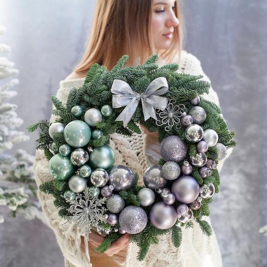 "Венок ""Северное Сияние"": букеты цветов на заказ Flowwow"