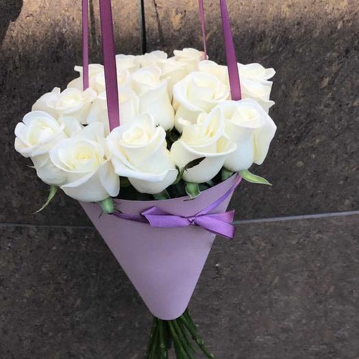 Утреняя роза: букеты цветов на заказ Flowwow