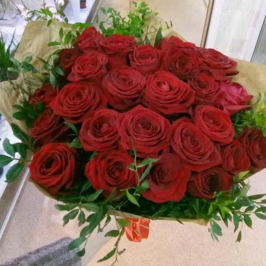 Прекрасной даме: букеты цветов на заказ Flowwow