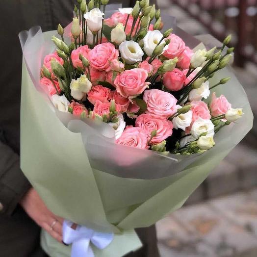 Твой поцелуй: букеты цветов на заказ Flowwow